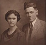 Maude and Ira Foster, the author's paternal grandparents